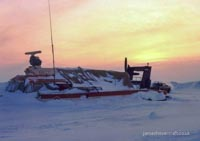 SRN6 stranded in the arctic