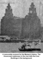 Liverpool Echo article about the VA-3 service - VA3 in front of the Liver building, on the River Mersey (Paul Greening).