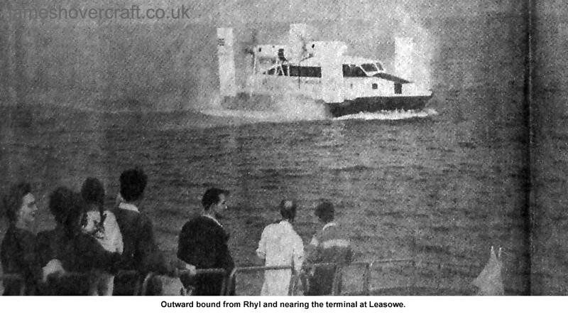 Liverpool Echo article about the VA-3 service - Leaving Rhyl (Paul Greening).