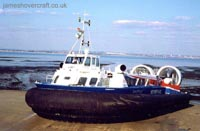 AP1-88 hovercraft - Freedom 90 in 2006 in a new livery (Photo: David Ingham)