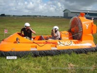 Association of Search and Rescue Hovercraft (Great Britain) - An ASRH-GB training day on the grass in daedalus, Lee-on-Solent, Hamphire, UK (Paul Hiseman).