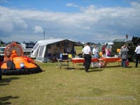 Association of Search and Rescue Hovercraft (Great Britain) - ASRH-GB's stall at the veterans day show at Southsea Common (Paul Hiseman).