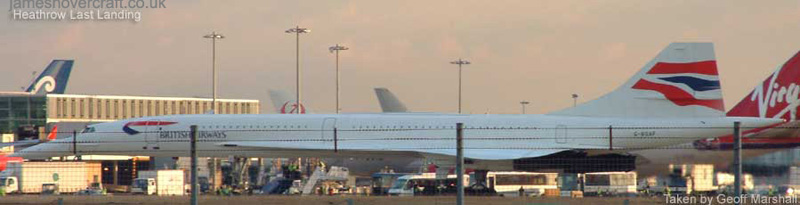 Concorde at London Heathrow - Concorde at LHR (Geoff Marshall) (Geoff Marshall).