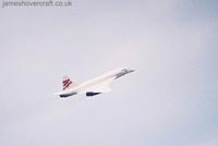 Concorde photographs - Concorde G-BOAG departs LHR for JFK (Photo: me) (James Rowson).