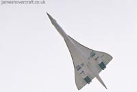Concorde G-BOAG taking off from London Heathrow Airport