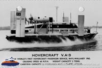 Vickers VA3 in service -   (The Hovercraft Museum Trust).
