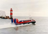 AP1-88 hovercraft on the Solent -   (The <a href='http://www.hovercraft-museum.org/' target='_blank'>Hovercraft Museum Trust</a>).