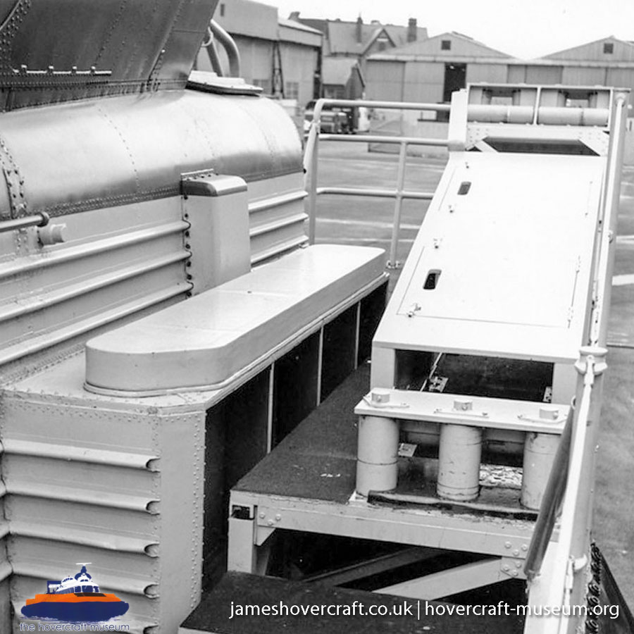 BH7 detailed close-ups of the craft -   (The <a href='http://www.hovercraft-museum.org/' target='_blank'>Hovercraft Museum Trust</a>).
