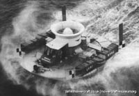 SRN1 world record cross-channel attempt -   (The <a href='http://www.hovercraft-museum.org/' target='_blank'>Hovercraft Museum Trust</a>).