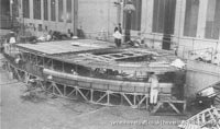 SRN3 during construction -   (The <a href='http://www.hovercraft-museum.org/' target='_blank'>Hovercraft Museum Trust</a>).
