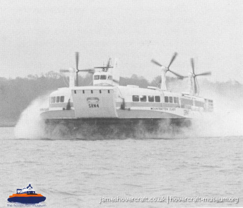 SRN4 prototype GH-2007 -   (The <a href='http://www.hovercraft-museum.org/' target='_blank'>Hovercraft Museum Trust</a>).