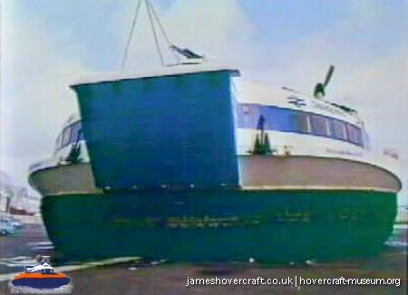 SRN4 Marks 1 and 2 -   (The <a href='http://www.hovercraft-museum.org/' target='_blank'>Hovercraft Museum Trust</a>).