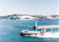SRN4 The Princess Margaret (GH-2006) with Hoverspeed -   (The <a href='http://www.hovercraft-museum.org/' target='_blank'>Hovercraft Museum Trust</a>).