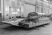 SRN5 being built at Cowes -   (The <a href='http://www.hovercraft-museum.org/' target='_blank'>Hovercraft Museum Trust</a>).