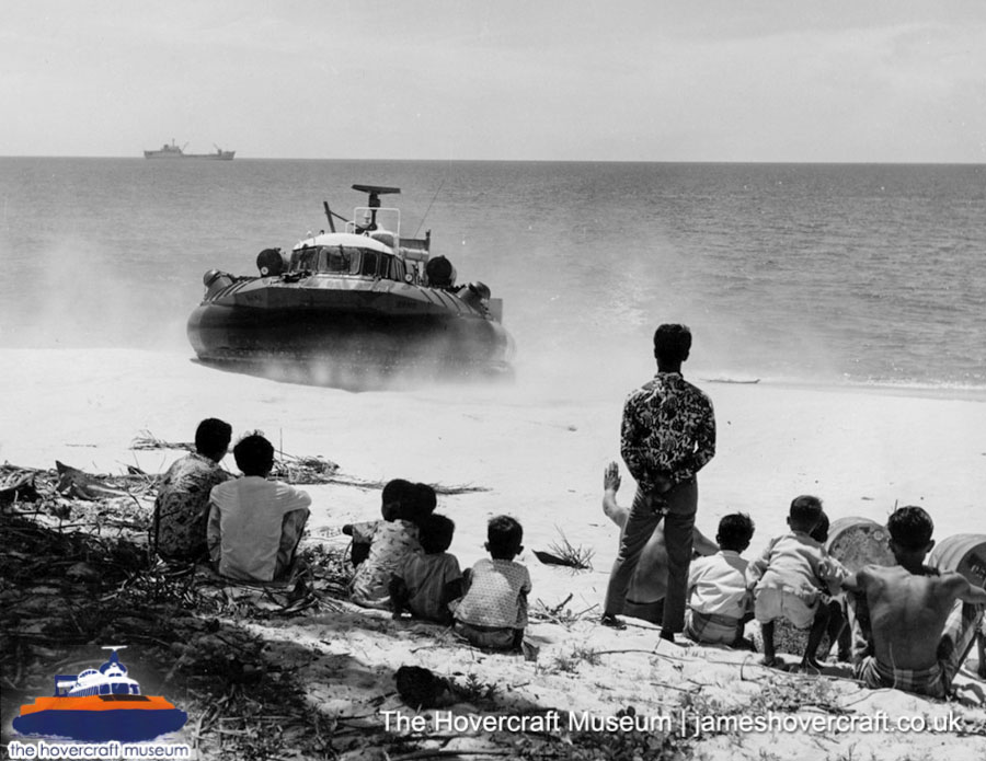 SRN6 in the Tropics -   (The Hovercraft Museum Trust).