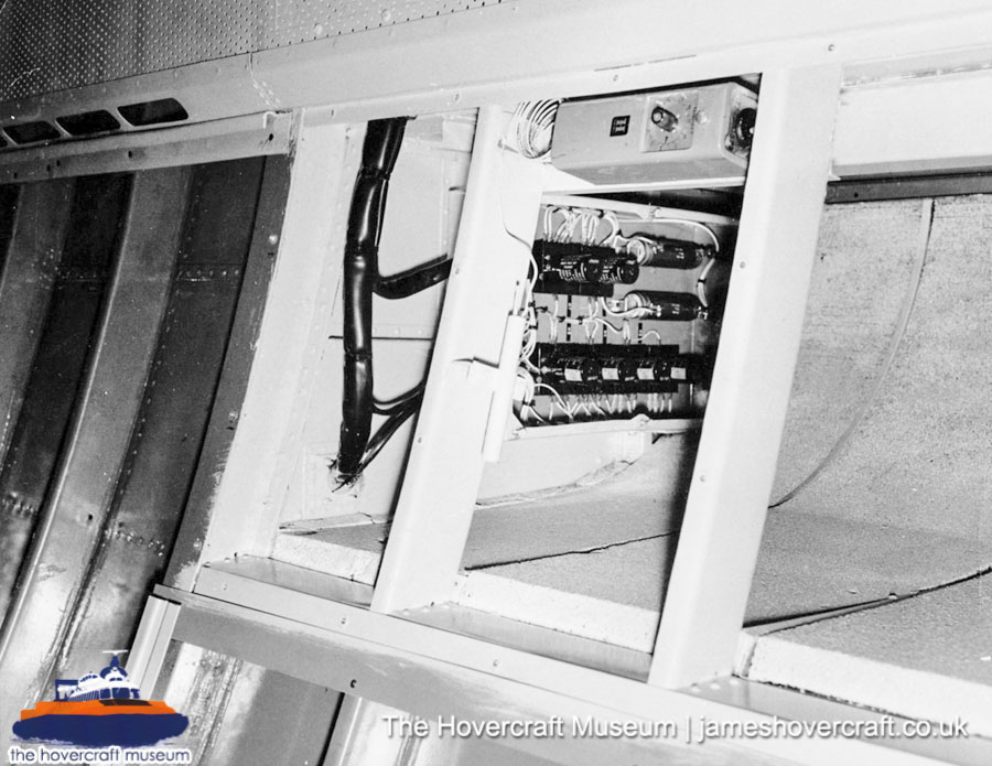 SRN6 close-up details - Electrical systems (The Hovercraft Museum Trust).