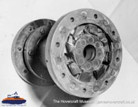 SRN6 close-up details - Bearing (The Hovercraft Museum Trust).