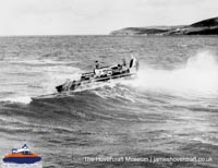 SRN6 with the Royal Navy -   (The Hovercraft Museum Trust).