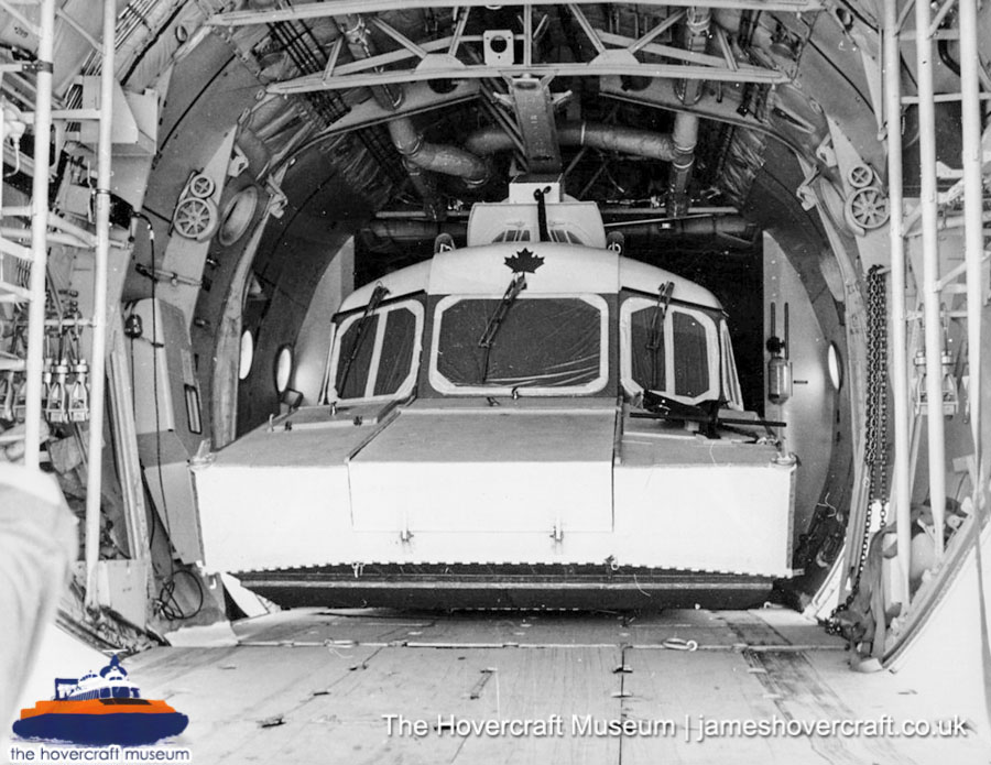 SRN6 with Pacific Hovercraft -   (The Hovercraft Museum Trust).