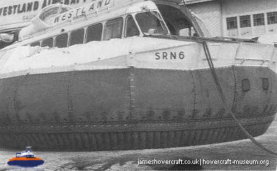 SRN6 being built at Cowes -   (The <a href='http://www.hovercraft-museum.org/' target='_blank'>Hovercraft Museum Trust</a>).