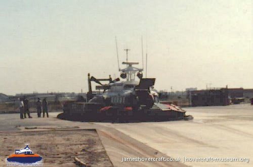 SRN6 with the Canadian Coastguard -   (The <a href='http://www.hovercraft-museum.org/' target='_blank'>Hovercraft Museum Trust</a>).