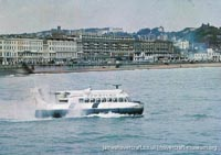 SRN6 with Townsend -   (The <a href='http://www.hovercraft-museum.org/' target='_blank'>Hovercraft Museum Trust</a>).