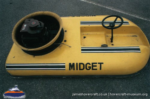 The Midget -   (The <a href='http://www.hovercraft-museum.org/' target='_blank'>Hovercraft Museum Trust</a>).