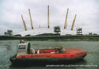 Skima hovercraft with Hoverhire -   (The <a href='http://www.hovercraft-museum.org/' target='_blank'>Hovercraft Museum Trust</a>).