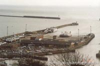 Dover hoverport -   (The <a href='http://www.hovercraft-museum.org/' target='_blank'>Hovercraft Museum Trust</a>).