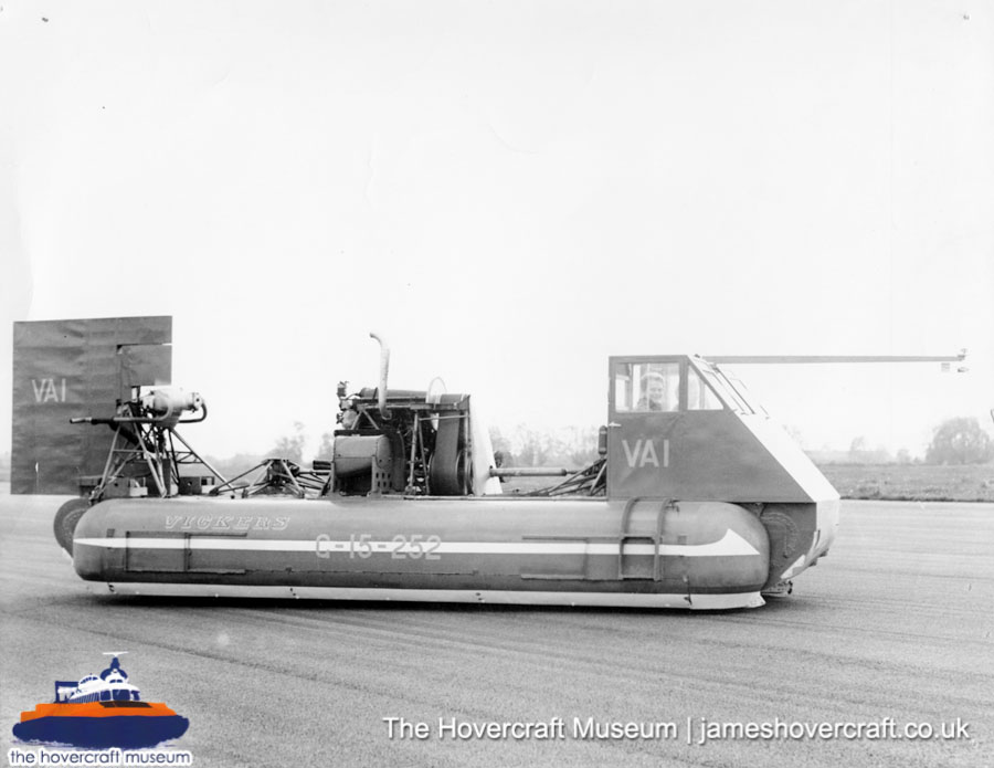 Vickers Hovercraft VA1 -   (The <a href='http://www.hovercraft-museum.org/' target='_blank'>Hovercraft Museum Trust</a>).