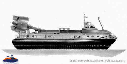 Vosper-Thornycroft VT2 diagrams -   (The <a href='http://www.hovercraft-museum.org/' target='_blank'>Hovercraft Museum Trust</a>).