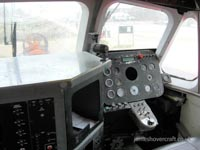 SRN6 at the 2009 Hovershow - Control panel, lacking Direction Indicator but otherwise still there (James Rowson).