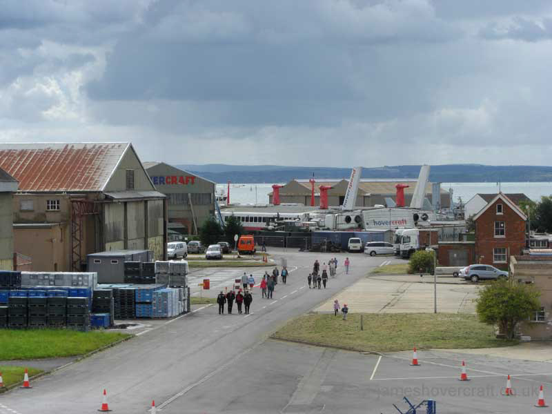 Walking around at the 2011 Hovershow - Hovershow as seen from control tower at Daedalus airport (James Rowson).