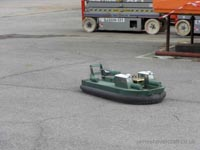 Model Hovercraft at the 2011 Hovershow - Mark Porter's SRN6 Well Deck (James Rowson).