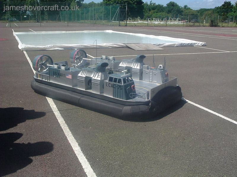 Model Hovercraft - Ralph Arrow's LCAC (Tim Stevenson).