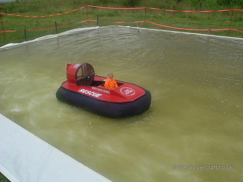 Model Hovercraft - Semi-scale Association of Search and Rescue Hovercraft GB (Tim Stevenson).