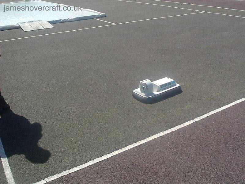 Model Hovercraft - Griffon 600 - Fun model by Rob Hiseman (Tim Stevenson).