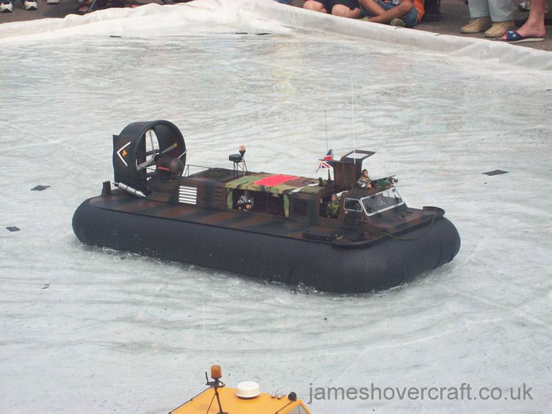 Model Hovercraft - Griffon 2000TDX as used in the Royal Marines by Stan Robinson (Tim Stevenson).