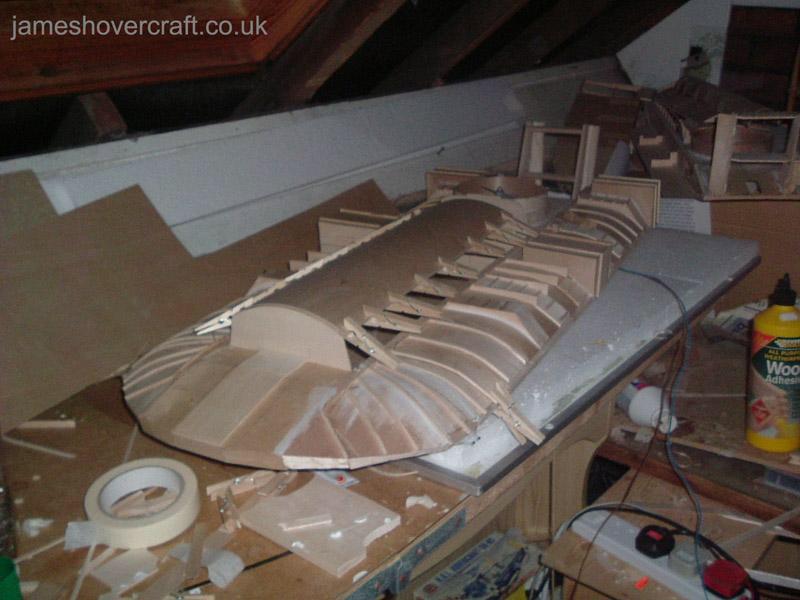 Model Hovercraft