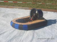 Model Hovercraft - Petrol Powered by Alan Smart (Tim Stevenson).