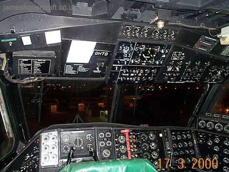 SRN4 Mk III Cockpit - Full cockpit layout (James Rowson).