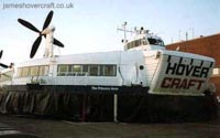 SRN4s operating with Hoverspeed - The Princess Anne (GH-2006) awaiting loading